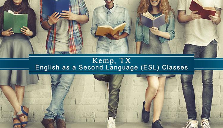 ESL Classes Kemp, TX