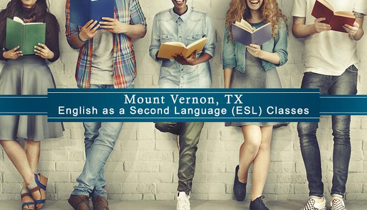 ESL Classes Mount Vernon, TX